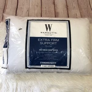 Wamsutta Extra Firm Support Pillow 300 Thread